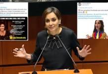 Lilly Téllez es bautizada en redes como #LadyChimoltrufia por incongruente