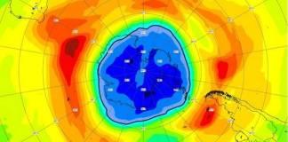 Agujero en capa de ozono supera tamaño de la Antártida