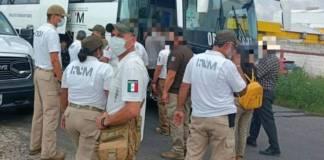 Rescatan a 262 migrantes en varios municipios de Veracruz