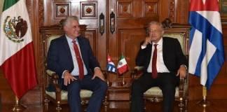 Díaz Canel estará en México para los festejos patrios