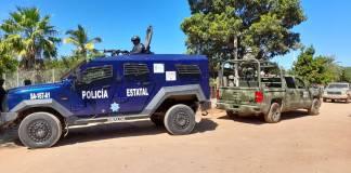 Se registra intensa balacera en Agua Caliente, Sinaloa; una mujer murió