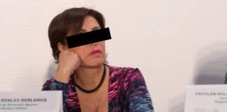 Rosario Robles estará presente en la audiencia donde se decidirá si sale o no de prisión