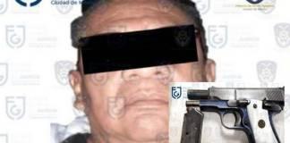 """Cae """"El Chato"""" en calles del Centro de la CDMX; se le acusa de secuestro y extorsión"""