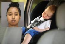 Mujer guardó en su auto el cadáver de su hijo durante varios meses