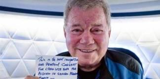 """William Shatner, el capitán Kirk viajó al espacio y fue una experiencia """"bellísima"""""""