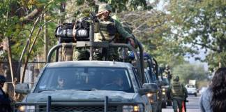 Más de 2 mil uniformados llegaron a Apatzingán para devolver la paz
