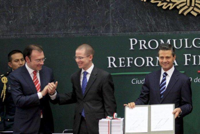 FGR acusará a EPN, Videgaray y Anaya de delincuencia organizada: Milenio