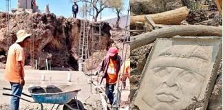 Teotihuacan, daños por obras ilegales
