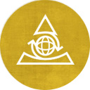 Golden Regency Logo with a triabnle and spinning arrows around a globe, representing regeneration and renewal
