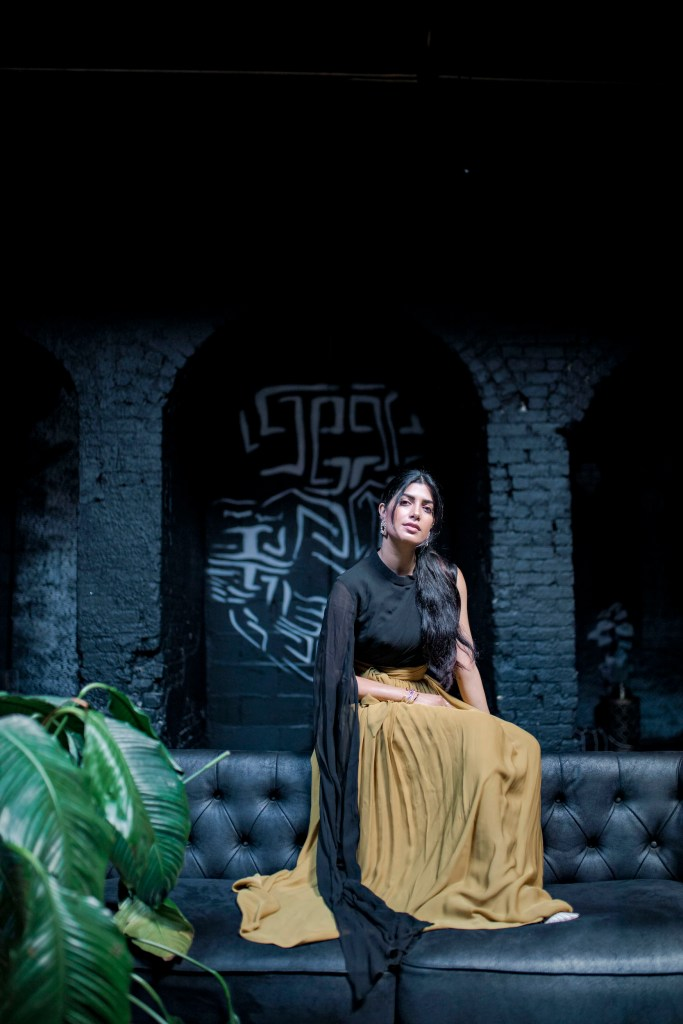 Photoshoot of model at Regency Event Venue in Red Hook District of New York