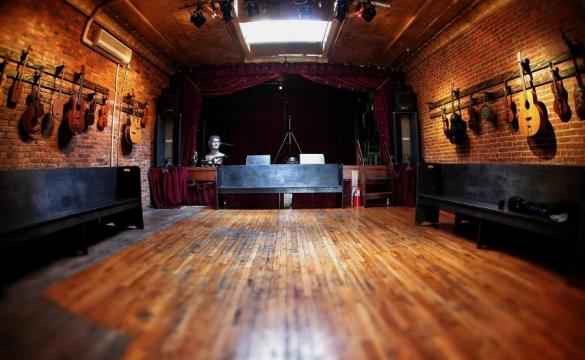 Jalopy Theater Hall, a Unique Event Space in Brooklyn, New York
