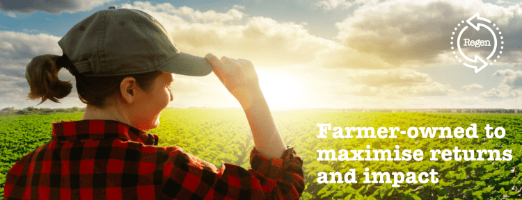 Farmer-owned to maximise returns and impact