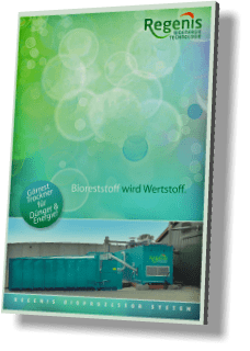 REW Regenis Produktbroschüre Gärrestentwässerung & Gärresttrockner