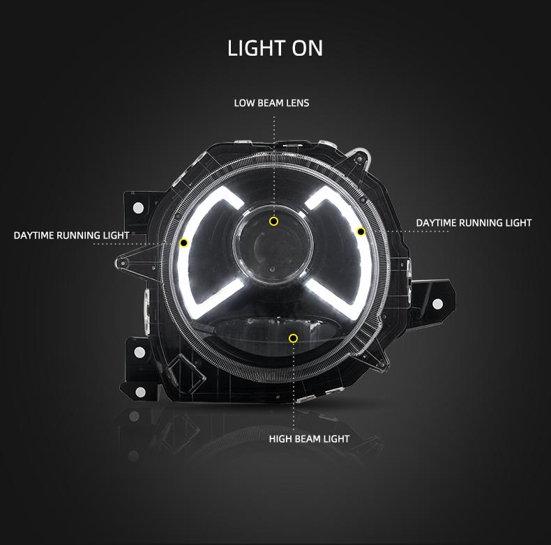 Suzuki Jimny headlight head light lamp headlamp