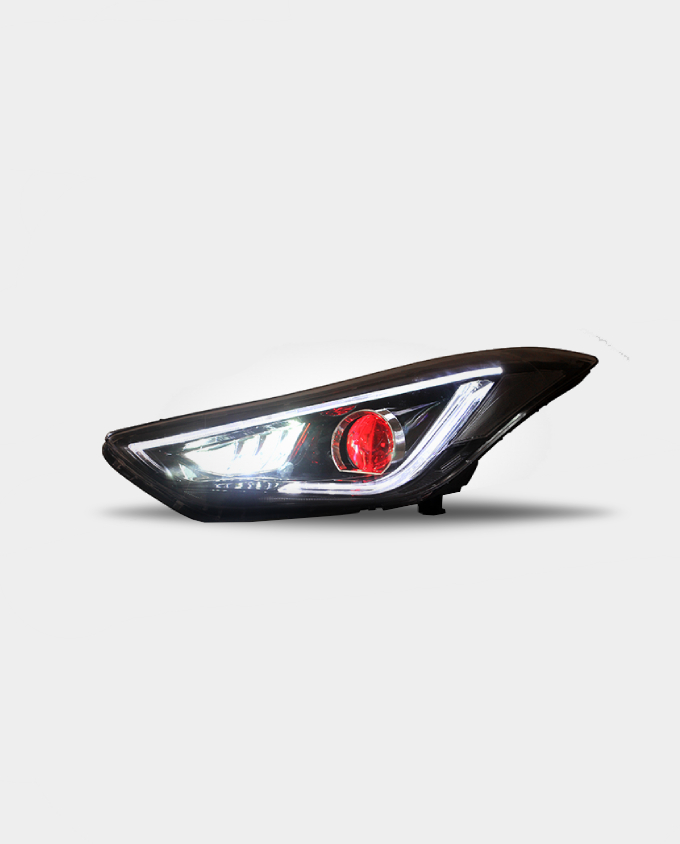 hyundai elantra head lights