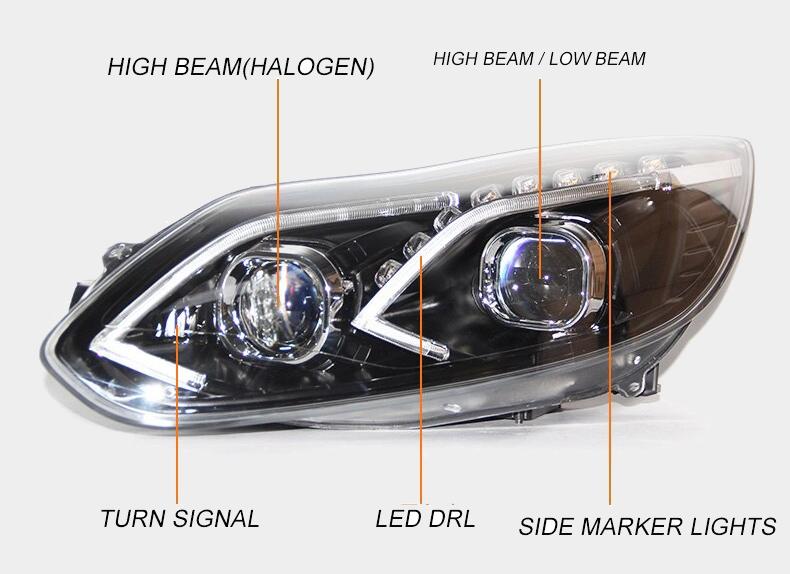 ford focus head lights headlights qatar