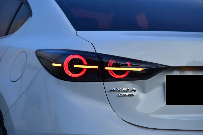 mazda 3 tail lights qatar