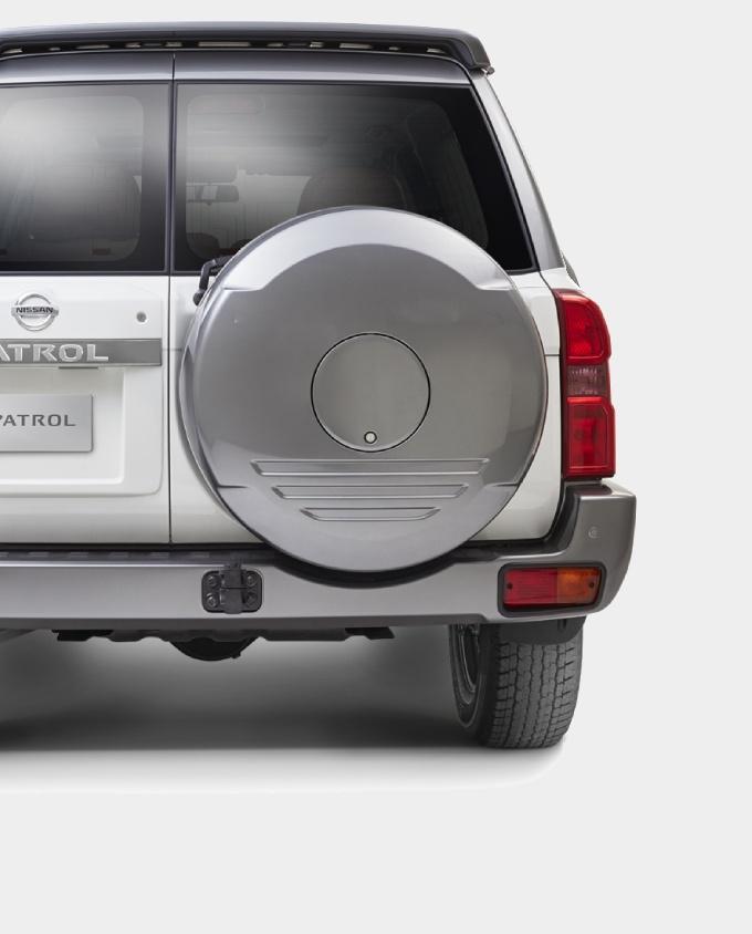 patrol safari tyre cover