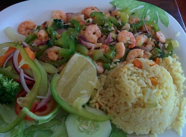 el salvadorian food