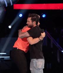 Tessanne picks Adam!
