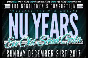 The 9th Annual NU YEARS EVE Old School Gala inside the Edward Hotel
