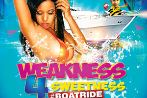 Weakness 4 Sweetness Bikini Top BoatCruise On Board The Yankee Lady Sunday June 25th