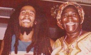 Bob & Mama B share big beautiful smiles!