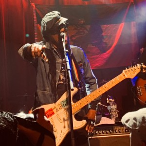 Photos of Junior Marvin and the band from the Ardmore Music Hall and Hamilton Live, Feb. 1 & Feb. 1