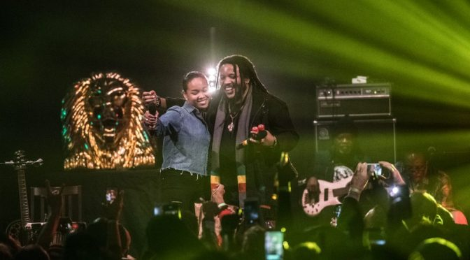 Stephen Marley & his 20-year-old dawta Mystic Marley