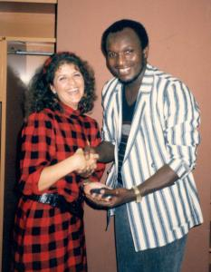 Lloyd Parkes Receives Small Axe Award from MPeggyQ