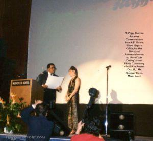 MPeggyQ Receives Miami Award