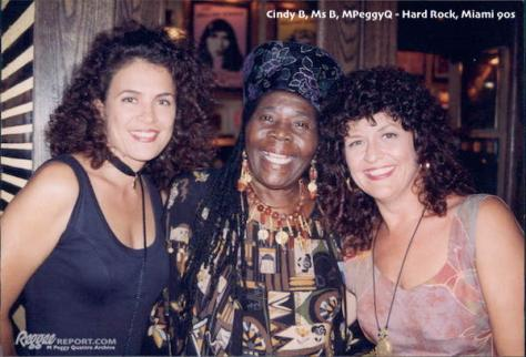 Cindy B, Ms B, MPeggyQ-Hard Rock, Miami