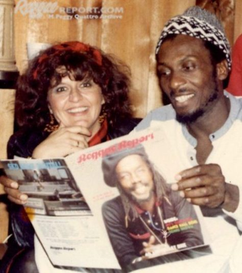 MPeggyQ and Jimmy Cliff