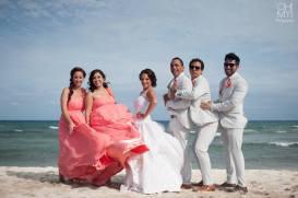 Maquillaje para nuestra novia en Playa del Carmen