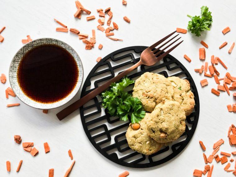 Das beste Rezept für vegane High-Protein-Falafel.