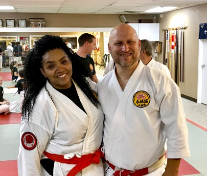 Me and Sensei Dave (David Ahrens, Kyoshi)