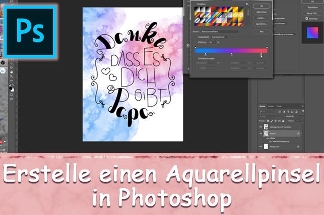 Erstelle Deinen eigenen Aquarellpinsel in Photoshop