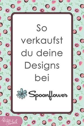 So verkaufst du deine Muster bei Spoonflower