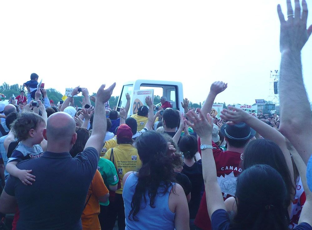 Immagini della giornata conclusiva dell'incontro mondiale delle famiglie, Milano, 3 giugno 2012 (2/6)