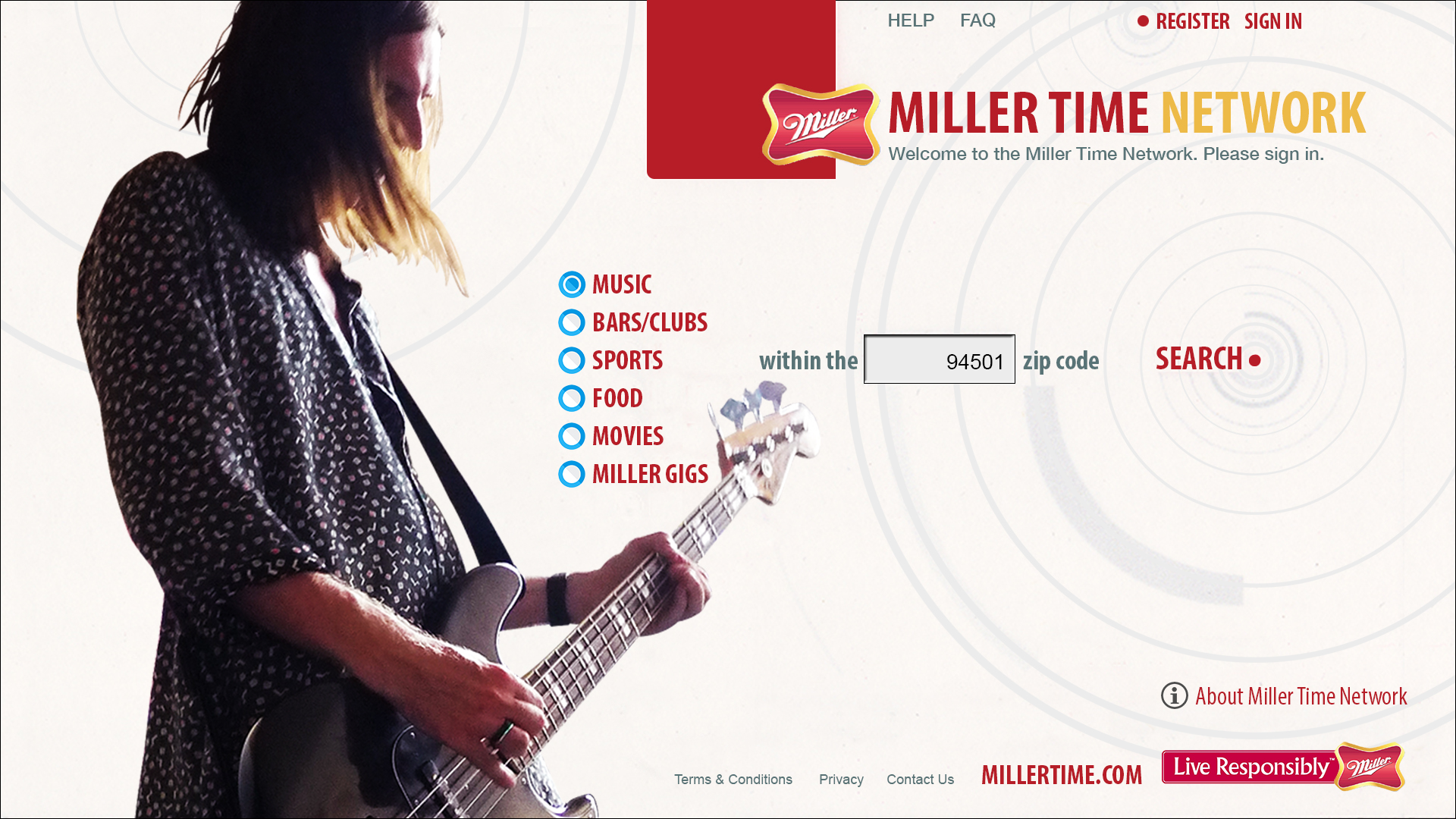 Miller Time Network - Music
