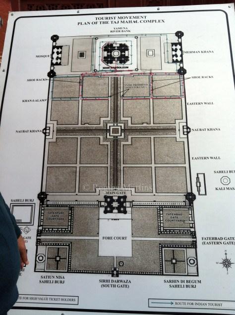 Taj Mahal schematicIMG_0636
