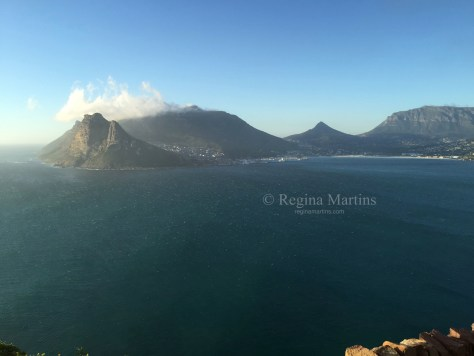 View of Hout Bay from Chapmans Peak Drive