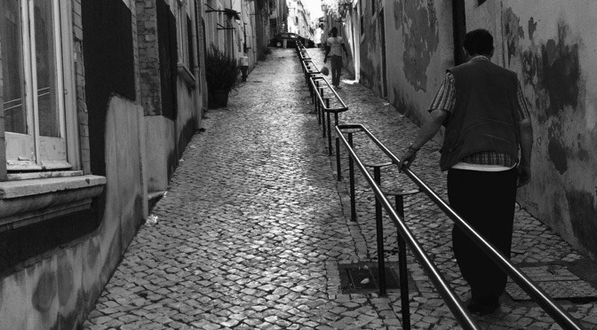 Cee's B&W Photo Challenge: What Is Beautiful To Me? Lisboa…