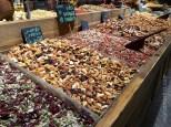 Sarona Market - look at all those fruits and nuts ©2016 Regina Martins
