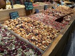 Sarona Market - look at all those fruits and nuts ©2016 Regina Martins
