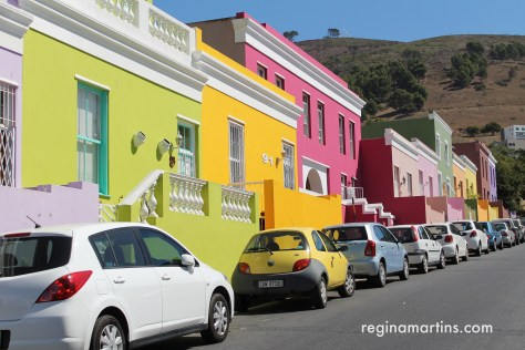 The colourful houses of Bo-Kaap ©2016 Regina Martins