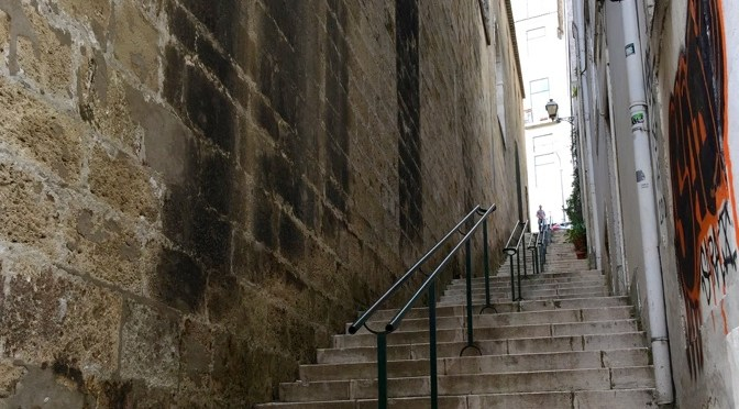 The Countless Stairs Of Lisbon