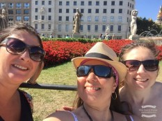 My colleagues and fellow Barcelona walkers ©2016 Regina Martins