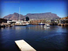 The beautiful unique Table Mountain. Photo taken from the V&A Waterfront. I never tire of looking out at this view whenever I am in the Mother City. ©2017 Regina Martins