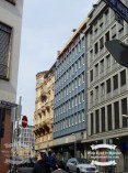 Buildings, older ones in a street in Frankfurt ©2017 Regina Martins